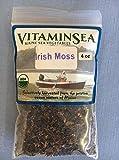 Vitaminsea Organische Irisches Moos Flocken - Algen Maine 112 G Tasche - USDA & Vegan zertifiziert & koschere Hand geerntet vom Atlantik Küste in der Sonne getrocknet Roh & Wilden Meer Gemüse (F 4)