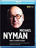 Michael Nyman: Make It louder, please! (The Michael Nyman Band live at Studio Halle) [Blu-ray]