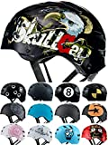 Skullcap® BMX Helm - Skaterhelm - Fahrradhelm - Herren | Damen | Jungs & Kinderhelm Gr. M (55 – 58 cm), Eagle