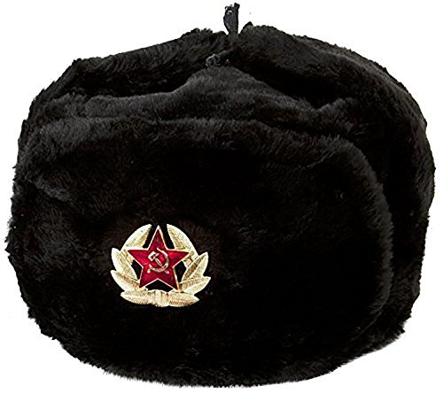 Outfly Ushanka Trapper Russia Hunting Hat Faux Fur Cap Earflap Winter  B15005-B bb23b32fdef