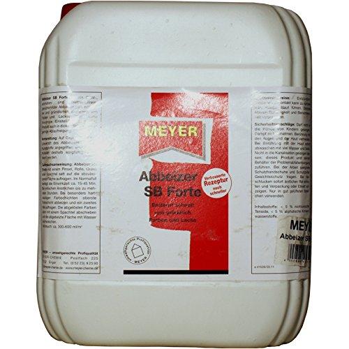 Abbeizer, Entlacker, Lacklöser, Lösungsmittel, 10 Liter Gebinde, Meyer SB Forte
