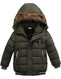 Kobay Fashion Kids Coat Jungen Mädchen dicken Mantel gepolsterte Winterjacke Kleidung