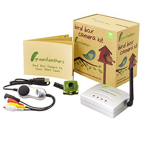 Box camera, Night Vision and Wireless USB Receiver (Pinhole-kamera-kit)