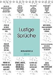 BERLINERISCH Lustige Sprüche (Tischkalender 2019 DIN A5 hoch): Da kiekste, wa? (Monatskalender, 14 Seiten ) (CALVENDO Spass)