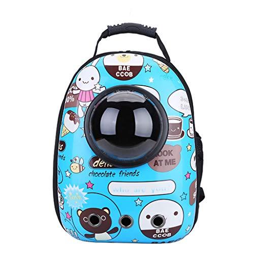 XL- Tragbarer Haustier-Reise-atmungsaktiver Rucksack, Raumkapsel-Blasen-Entwurf, wasserdichter Handtaschen-Rucksack für -