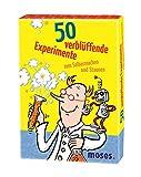 Moses 50 verblüffende Experimente zum Selbermachen und Staunen, Kinderbeschäftigung, Kartenset