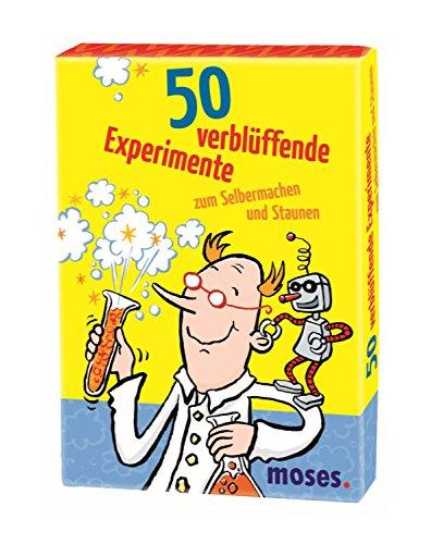 moses. 50 verblüffende Experimente zum Selbermachen und Staunen | Kinderbeschäftigung | Kartenset