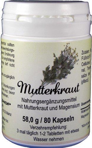 Mutterkraut mit Magnesium - 80 Tabletten -