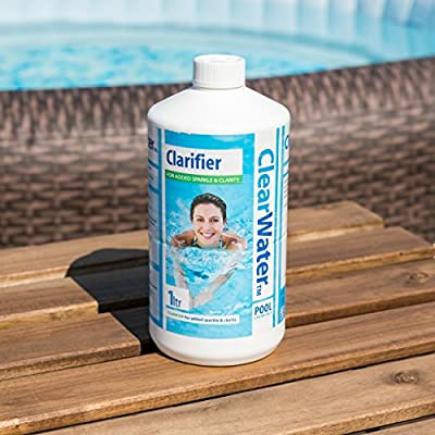 Clearwater CH0009 Clarifier for Swimming Pool and Spa Treatment, 1 Litre