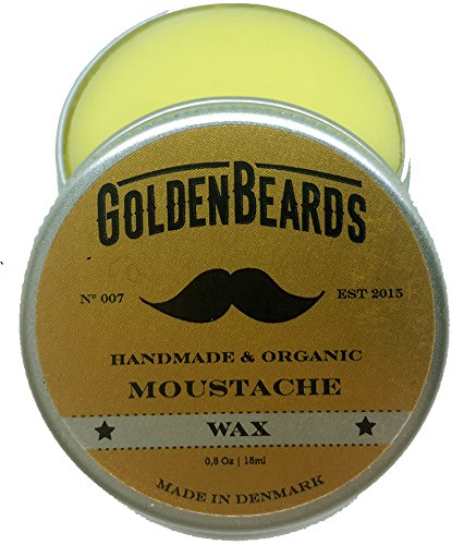 snor kaarsvet - 15 ml 100% Natuurlijk Golden beards jojobaolie-esters & argaanolie & aprikosenöl. Haal zich het beste Product voor uw snor, middelen/sterk houden ()