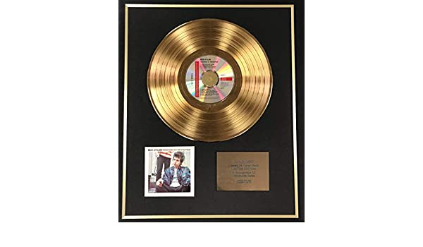 Exclusive Limited Edition 24 Carat Gold Disc Century Music Awards Bob Dylan Highway 61