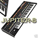for Roland Jupiter 8 - the very Best of/unique original WAVEs studio samples library on DVD or download