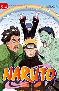 Naruto nº 54/72 par Masashi Kishimoto
