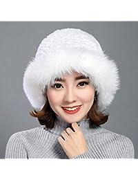 Sciarpe Xiaolin- Signorina Autunno E Inverno Tenere Caldo Cappello Cappello  da Bacinella A Prova di d927253b597a