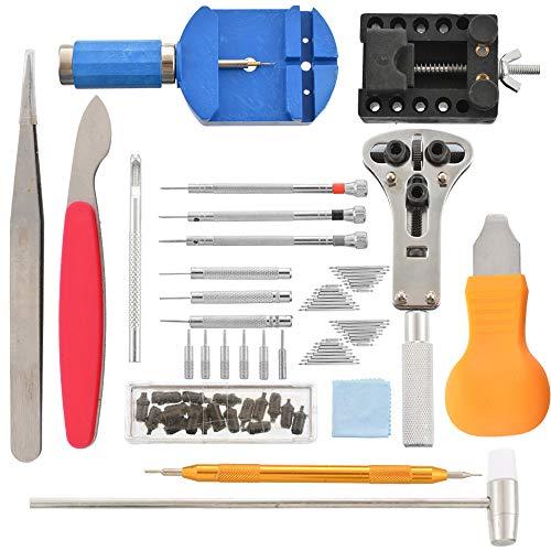 lchde Uhrenwerkzeug Set 19tlg Uhrmacherwerkzeug Armband Uhren Reparatur Werkzeug Tasche Watch tool in Nylontasche Reparatur Set