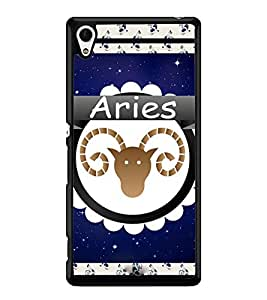 Fuson 2D Printed Sunsign Aries Designer back case cover for Sony Xperia Z3 Plus - D4430