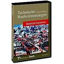Technische Baubestimmungen - Historische Baunormen - DVD Mehrplatzlizenz: Version 2017