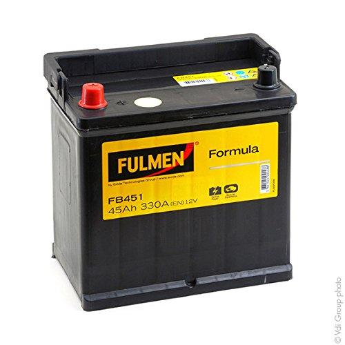 Fulmen - Batterie voiture FB451 12V 45Ah 330A - Batterie(s) - FB451 ; EB451
