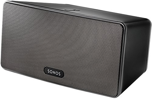 Sonos PLAY:3 I Vielseitiger Multiroom Smart Speaker für Wireless Music Streaming (schwarz)
