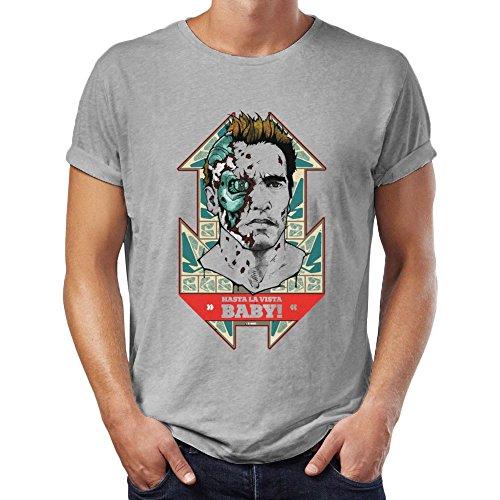Hasta La Vista Baby Terminator 2 Men's T-Shirt