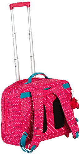 Compare Prices for Kipling – CLAS DALLIN – Wheeled Backpack – Pink Summer Pop – (Print)