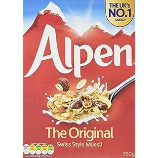 Alpen Original Muesli 750 g (Pack of 10)