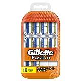 Gillette, Fusion, Set di lame di ricambio per rasoio, 10 pz.
