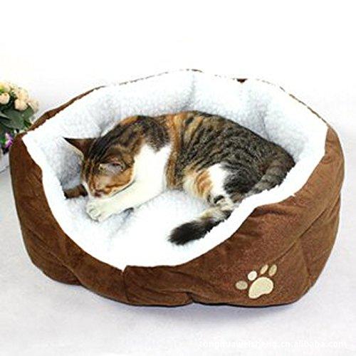 MFEIR Hundebett Katzenbett Baumwolle Pet Bett Kissen für Hu...
