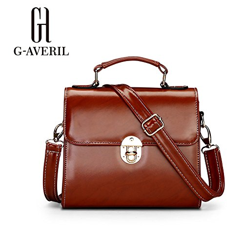 G-AVERIL, Borsa a mano uomo Nero Black Purple