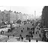 Lawrence Sackville O'Connell Street Dublin 1905 Large Wall