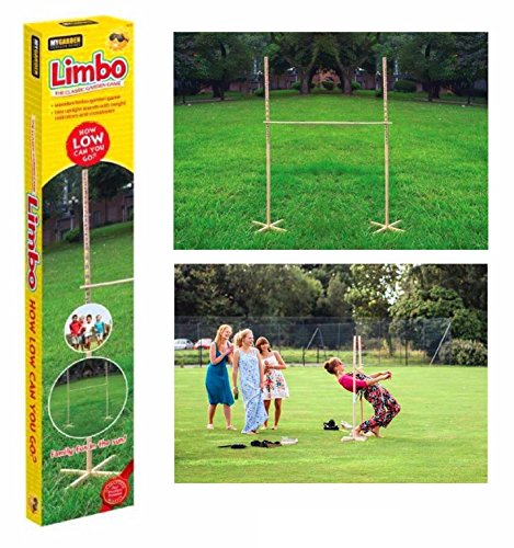 GARDEN LIMBO GAME Outdoor Indoor Kids Adult Family Fun Summer Party Games by Lizzy�