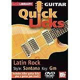 Guitar Quick Licks - Latin Rock/Santana