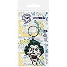 DC Comics Llavero caucho The Joker 6 cm