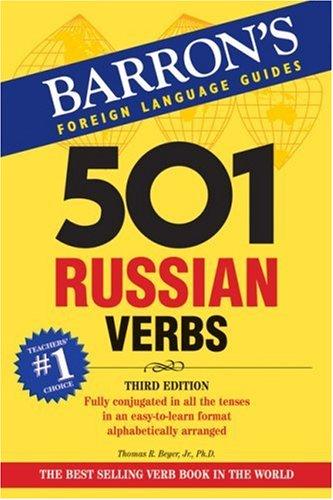 501 Russian Verbs (501 Verbs)