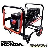 Motores Campeón GH8000T Generador Eléctrico Campeón trifásico de 7500 W con Motor Honda, 3000 RPM, 380/220 V, 80 kg