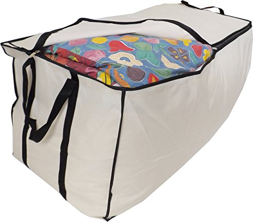 "Extragroße Betttasche ""Stupidly Useful\"", Jumbo XXL, 215 Liter 98x47x47cm, Beige"