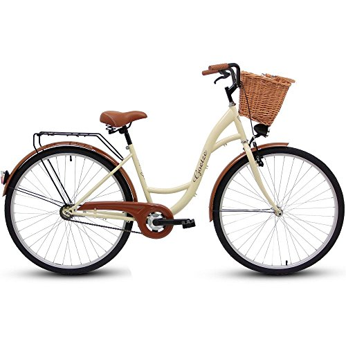 GOETZE 28″ 1B Classic Eco ,Fahrrad, Citybikes, Stadtrad Retro Vintage Cream