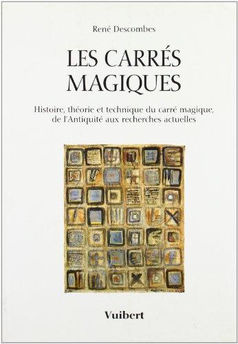 Les carrés magiques par René Descombes