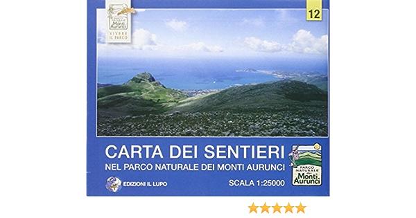 Amazon It Carta Dei Sentieri Nel Parco Naturale Dei Monti Aurunci Carta Escursionistica 1 25 000 Libri