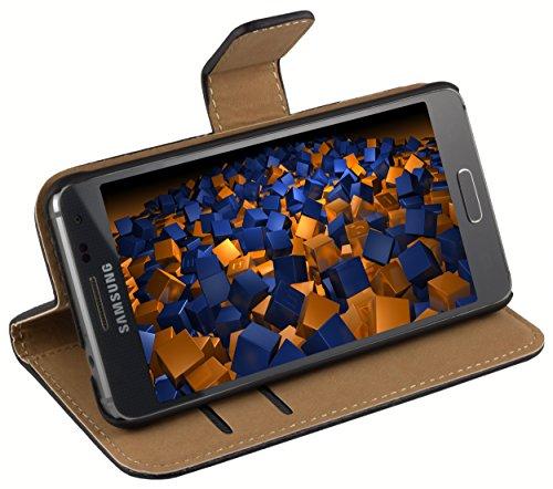 mumbi Tasche im Bookstyle für Samsung Galaxy Alpha Tasche