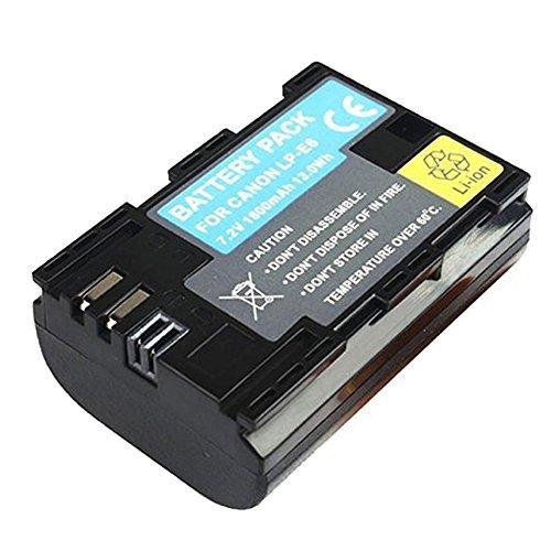 BPS LP-E6 LP-E6N Li-ion Battery for Canon EOS 80D,EOS 6D,EOS 70D,EOS