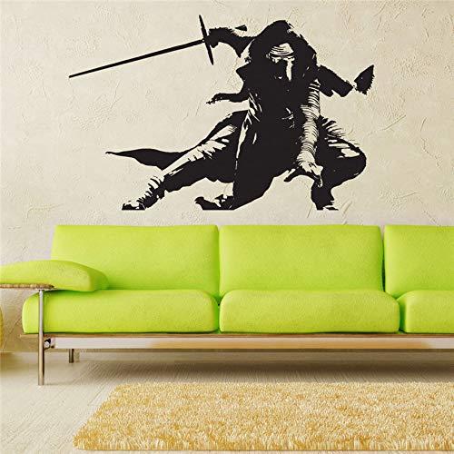 jiushizq Vinyl Wall Decal Wandaufkleber für Kinderzimmer Abnehmbare Art Decor Zitat Poster grau 58 x 91 cm