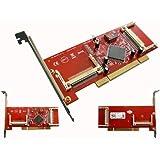 KALEA-INFORMATIQUE © - Carte PCI Supportant 4 cartes Compact Flash - Compatible DMA et UDMA - Montage indépendant ou en grappe RAID 0,1,10