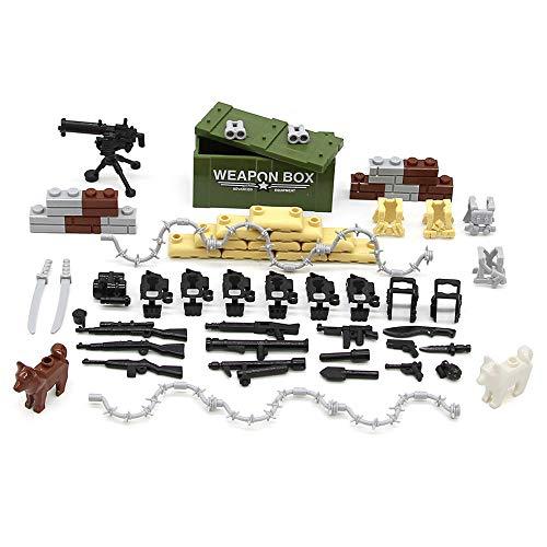 Feleph Accesorios Militares Set Armas Armas Perro