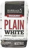 Marriages Organic Plain White Flour 1 kg (Pack of 6)