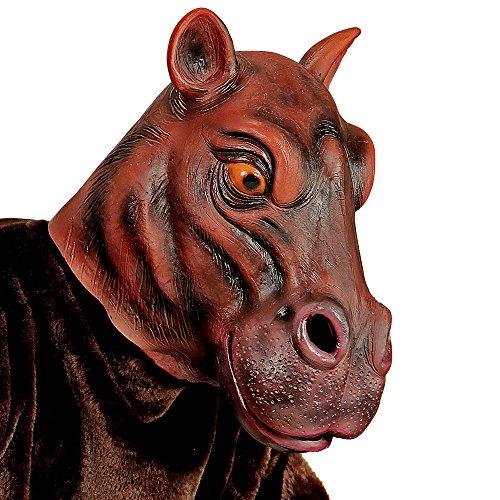 rd, Latex (Latex Maske Nilpferd)