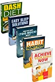 51BC1 0eppL. SL160  - NO1# SLEEP SOLUTIONS Life Hacking: Achieve Your Goals Now with PowerListsTM, Habit Ignition, You've Got (Too Much) Mail!, Easy Sleep Solutions, DASH Diet (Goal Achievement, Habit Building, Email Management) best sleep & dream reviews Buy price uk