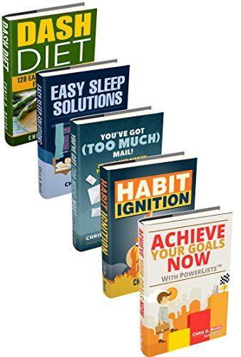 51BC1 0eppL - NO1# SLEEP SOLUTIONS Life Hacking: Achieve Your Goals Now with PowerListsTM, Habit Ignition, You've Got (Too Much) Mail!, Easy Sleep Solutions, DASH Diet (Goal Achievement, Habit Building, Email Management) best sleep & dream reviews Buy price uk