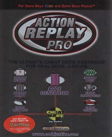 Game boy color et pocket - Action replay PRO