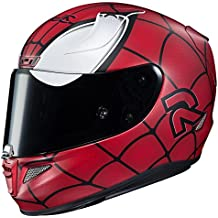 HJC RPHA 11 Pro Marvel Spiderman Casco MC-1SF (rojo, mediano)
